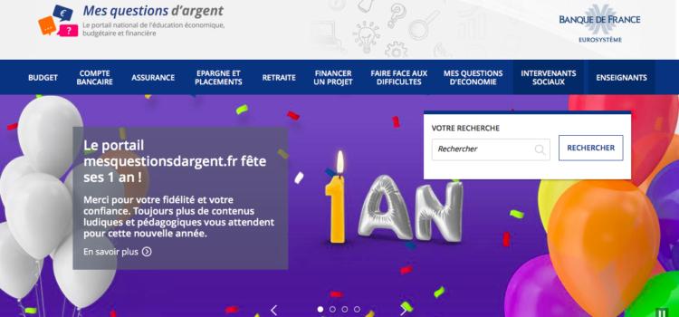 Présentation de mesquestionsd'argent.fr