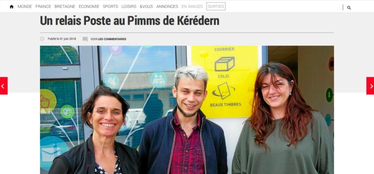 Un Poste Relais au PIMMS de Kérédern