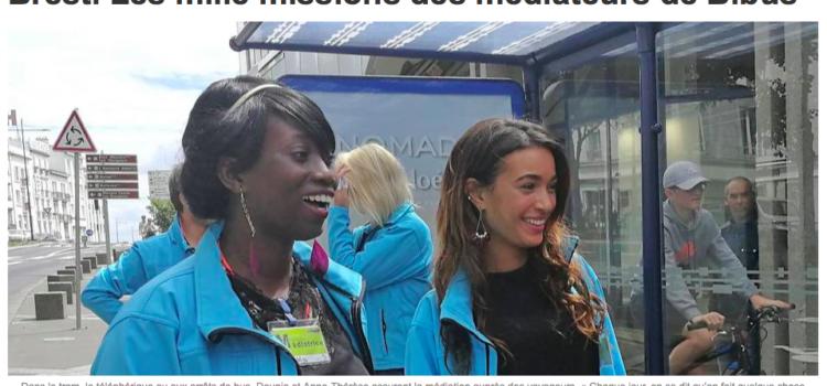 """""""Les mille missions des médiateurs de Bibus"""""""